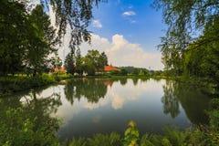 Brancoveanu Monastery Royalty Free Stock Photo