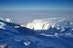 Brancura em montanhas gigantes/Karkonosze Fotografia de Stock Royalty Free