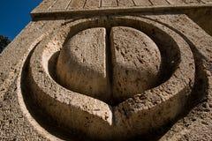 Brancusi雕塑 免版税库存照片