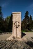 Brancusi雕塑 免版税库存图片