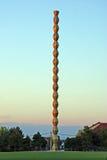 Brancusi: Coluna infinita imagem de stock