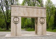 brancusiskulptur Arkivfoton