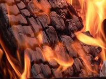 Brand 3 van het kamp Stock Afbeelding