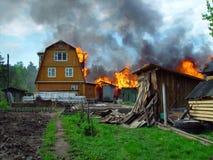 Brand. Stock Afbeeldingen