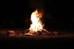 brand 2 Fotografering för Bildbyråer
