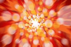 Brand abstracte lichte achtergrond Stock Foto