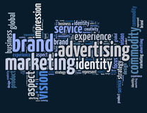 Brand advertising and marketing Stock Photography
