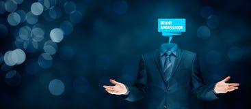 Brand ambassador professional. Corporate marketing specialist concept stock photo