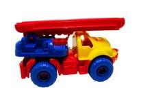 Brand-auto stuk speelgoed Royalty-vrije Stock Foto