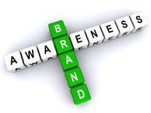 Brand awareness stock illustration
