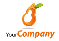 Brand boat. Mark for fruit and vegetable company Royalty Free Stock Images