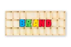 Brand Box Stock Photos