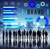 Brand Branding Copyright Advertising Banner Concept Stock Photo