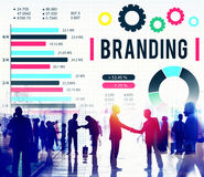 Brand Branding Copyright Advertising Banner Concept Royalty Free Stock Photos
