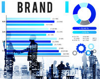 Brand Branding Copyright Advertising Banner Concept Stock Photography