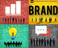 Brand Branding Copyright Trademark Marketing Concept Royalty Free Stock Photos