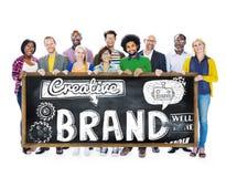 Brand Branding Copyright Trademark Marketing Concept stock images