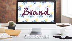 Brand Branding Copyright Trademark Marketing Concept royalty free stock photography
