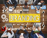 Brand Branding Label Marketing Profile Trademark Concept royalty free stock images