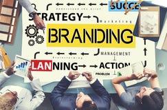 Brand Branding Label Marketing Profile Trademark Concept royalty free stock photo