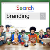 Brand Branding Marketing Advertising Trademark Concept.  stock images