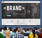Brand Branding Marketing Advertising Trademark Concept stock image