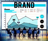 Brand Branding Marketing Business Strategy Concept stock photo