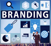 Brand Branding Marketing Commercial Name Concept stock image