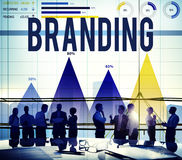 Brand Branding Marketing Product Value Concept royalty free stock images