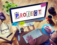 Brand Branding Project Goals Word Concept Royalty Free Stock Photography