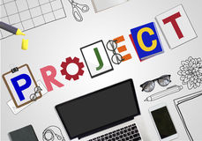 Brand Branding Project Goals Word Concept Stock Photography