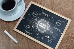 Brand Building in Business Concept stock photo