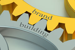 Brand building concept Stock Image