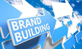 Brand Building Royalty Free Stock Images