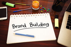 Brand Building Royalty Free Stock Photos