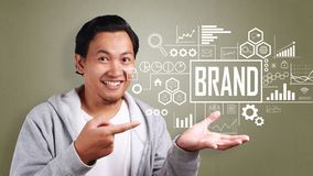 Brand in Business Concept royalty free stock image