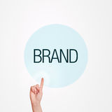 Brand Concept Stock Image