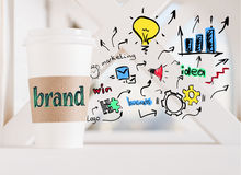 Brand concept Royalty Free Stock Image