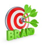 Brand concept. Royalty Free Stock Photos