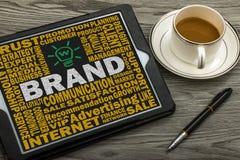 Brand concept Royalty Free Stock Photos