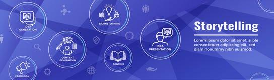 Brand Concepting and Brainstorming Web Header Banner with Photos. Brand Concepting & Brainstorming Web Header Banner with Photos, Person, etc vector illustration