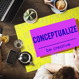 Brand Conceptualize Design Style Inspiration Concept Stock Photos