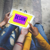 Brand Conceptualize Design Style Inspiration Concept Royalty Free Stock Photography