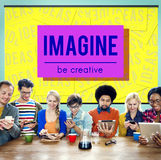 Brand Conceptualize Design Style Inspiration Concept Stock Image