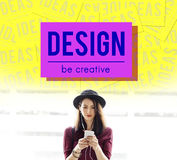 Brand Conceptualize Design Style Inspiration Concept Stock Photography