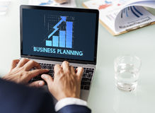 Brand Corporate Business Planning Marketing Management Concept royalty free stock photo