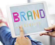 Brand Creative Branding Advertising Commercial Marketing Concept stock photo
