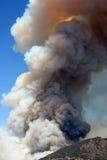 Brand in de heuvels Stock Afbeeldingen