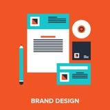 Brand design Stock Images