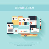 Brand Design Royalty Free Stock Images